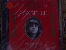ROSA PONSELLE - PRIMA VOCE -CD NUOVO SIGILLATO (SEALED)