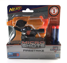 NERF MICRO SHOTS Firestrike Elite 2 Darts N Strike Series 1 Hasbro BRAND NEW
