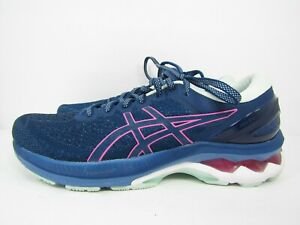 WOMEN'S ASICS GEL KAYANO 27 size 10 !WORN LESS THAN 10 MILES! RUNNING SHOES!