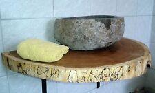 Baumscheibe, Holzscheibe, Waschtischplatte, ca. 75 x 30 x 5 cm, geölt,Eiche