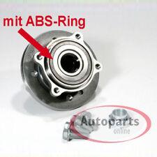 Mini Cooper Radnabe mit Radlager Satz ABS Sensor Ring für vorne die Vorderachse*