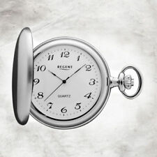 Analoge Graue Taschenuhren aus Edelstahl