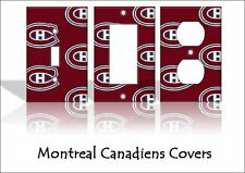 Montreal Canadiens Light Switch Covers Hockey NHL Home Decor Outlet