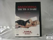 Madonna - Truth or Dare (DVD, 1997, French and Spani...