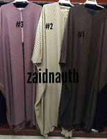 Femme Bout Ouvert Abaya.dress. Saoudien Abaya Japonais Extensible Neda / Tailles
