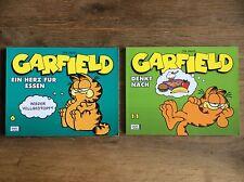 """Garfield SC 6 """"Ein Herz für Essen"""" + SC 11 """"Garfield denkt nach"""""""