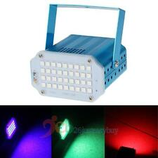 36 LED 36W RGB Mini Projector Strobe DJ Disco Light Stage Party Laser Lighting