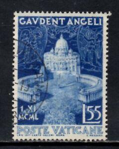 Vatican City 1951 Proclamation of Dogma of Assumption 55 Lire SG.163 Fine Used
