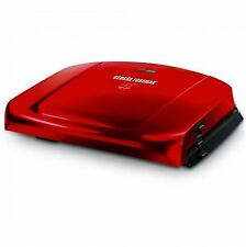 George Foreman Easy to Clean Grilling Machine Candy Apple Red