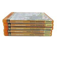 Nora Roberts Audiobooks Lot of 5 MP3-CD Brilliance Audio
