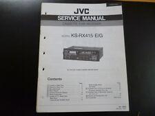 Original Service Manual JVC KS-RX415