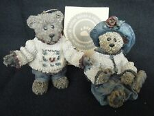 Boyds Ornaments Bailey & Matthew 1996 Le