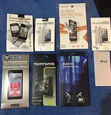 Protections d'écran pour iphone 5 , 6plus ( arrière), 7plus et tomtom