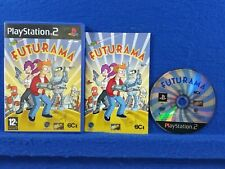 ps2 FUTURAMA *PAL UK VERSION* Region Converter/PAL Console Required To Play US