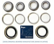 1990-1993 MERCEDES 300D 1986-1993 300E Front Wheel Bearing KOYO & Seal Set