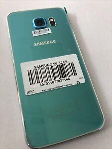 Samsung Galaxy S6 BLUE Topaz G920F -32GB -3GB RAM- Unlocked - UK 🇬🇧