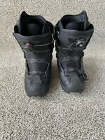 DC Scout Boa  Snowboard Boots mens Size 11 Black