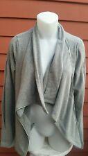 NWT, Sweaty Betty Cool Down Gray Symmetric Jacket, Broken Zipper, S