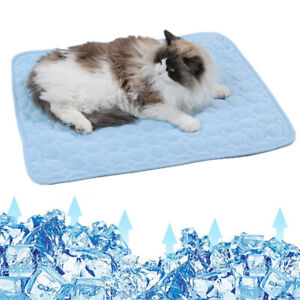 Dog Mat Summer Washable Pet Dog Cooling Mat Sleeping Pad For Pet Cat Dogs AU