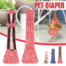 Pet Diaper Chicken Goose Duck Poultry Nappy Adjustable Cloth Color Random 3Sizes