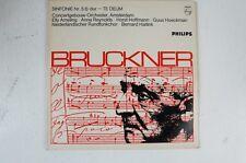 Bruckner 5 Filarmonica Te Deum Bernard Haitink Concertgebouw Orchestra (lp28)