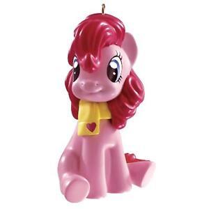 Carlton Card Heirloom My Little Pony Pinkie Pie Wearing Scarf Christmas Ornament