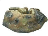 9607 WW1 or WW2 54mm Right End Trench Right Side Open and Left Back Side Open Pa
