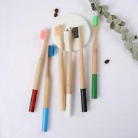 en bois les moyennes de soies la brosse à dents de bambou hygiène buccale