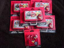 Nintendo 3DS & DSi Official ANGRY BIRDS 3D Gamer 4 pc Carry Case Set JOB LOT**