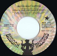 Lena Horne & Gabor Szabo US Promo 45 Watch what happens VG+ '70 Buddah Jazz