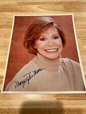 Mary Tyler Moore Actress Original Hand Autographed Signed Color Photo