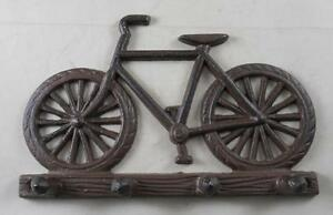 Cast Iron Bicycle Key Rack Key Holder - Wall Decor - Bicycles