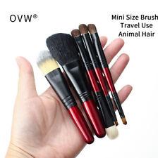 Portable Makeup Brush Set Foundation Blush Eyeshadow Cosmetic Brushes Travel Use