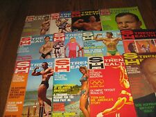 Lot Of 12 Strength & Health Bodybuilding Magazines/ 1968 COMPLETE YEAR