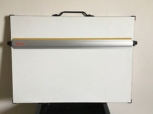 ROTRING A2 STATIONARY DRAWING BOARD WITH LEGS, NO BOX.