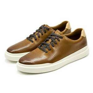 New Cole Haan GrandPro Rally Perforated Leather Cushioned Casual Men's Sneakers