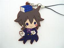 Anime Pandora Hearts Heart of Pandora Leo Rubber Phone Strap Charm Keychain