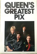 Queen'S Greatest Pix Queen 1982 Usa Edition A+ Book 1St Printing Freddie Mercury