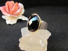 Silberring Männerring Siegelring Ring Sterlingsilber 925 Handarbeit Onyx Gr 60