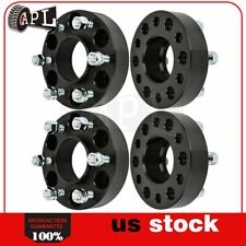 "4X new 6 Lugs 1.5"" 38 mm 6x5 12x1.5 wheel spacers for Chevrolet silver 2005"