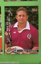 1996 RUGBY UNION  CARD #33 DAN CROWLEY, REDS