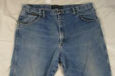 Wrangler 31MGSHD George Strait Faded Denim Jeans Tag 40x30 Measure 40x30 Cowboy