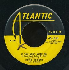 45tk-R&B  -ATLANTIC 1018-Ruth Brown