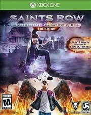 Saints Row IV: Re-Elected & Gat Out of Hell -- First Edition Xbox One NEW