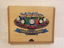 Thomas & Friends Wood Sliding Storage Box Learning Curve Train Pencil Case