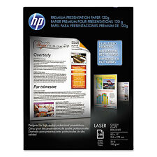 HP Color Laser Presentation Paper 95 Brightness 32lb 8-1/2 x 11 White 250/Pack