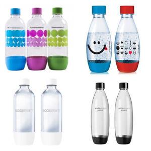 SodaStream Carbonating Bottles 1/0.5 L Liter EXPIRE 3 YEARS! CHOOSE YOUR BOTTLES