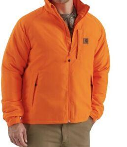 Carhartt 8 Point Jacket Men's Large  Reg Winter Coat Rain Defender Hunting Work