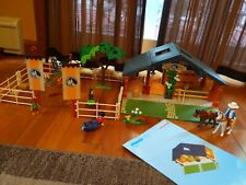 Playmobil horse and pony ranch 3120 plus manual-  nice