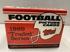 1989+Topps+Traded+Series+Picture+Football+Cards%C2%A0